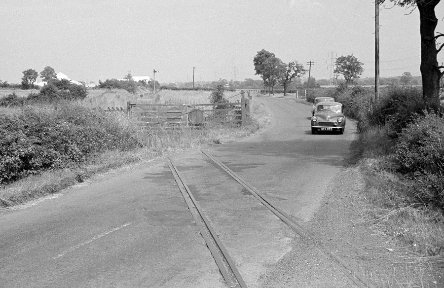 Level crossing between Ratby and Desford, ex-Leicester & Swannington Railway