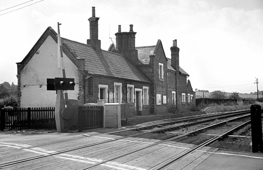The closed station at Desford